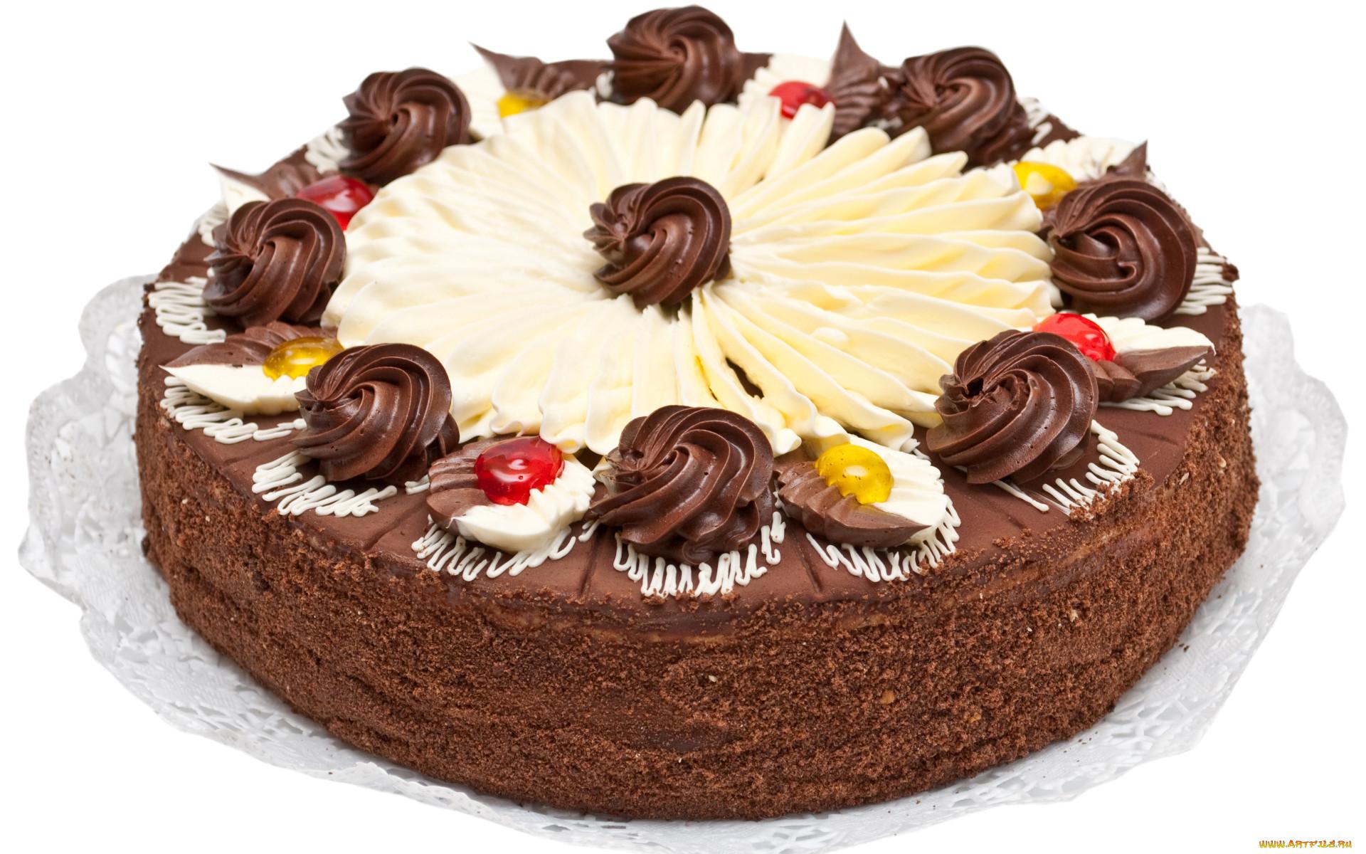 Вкусный шоколадный крем для торта